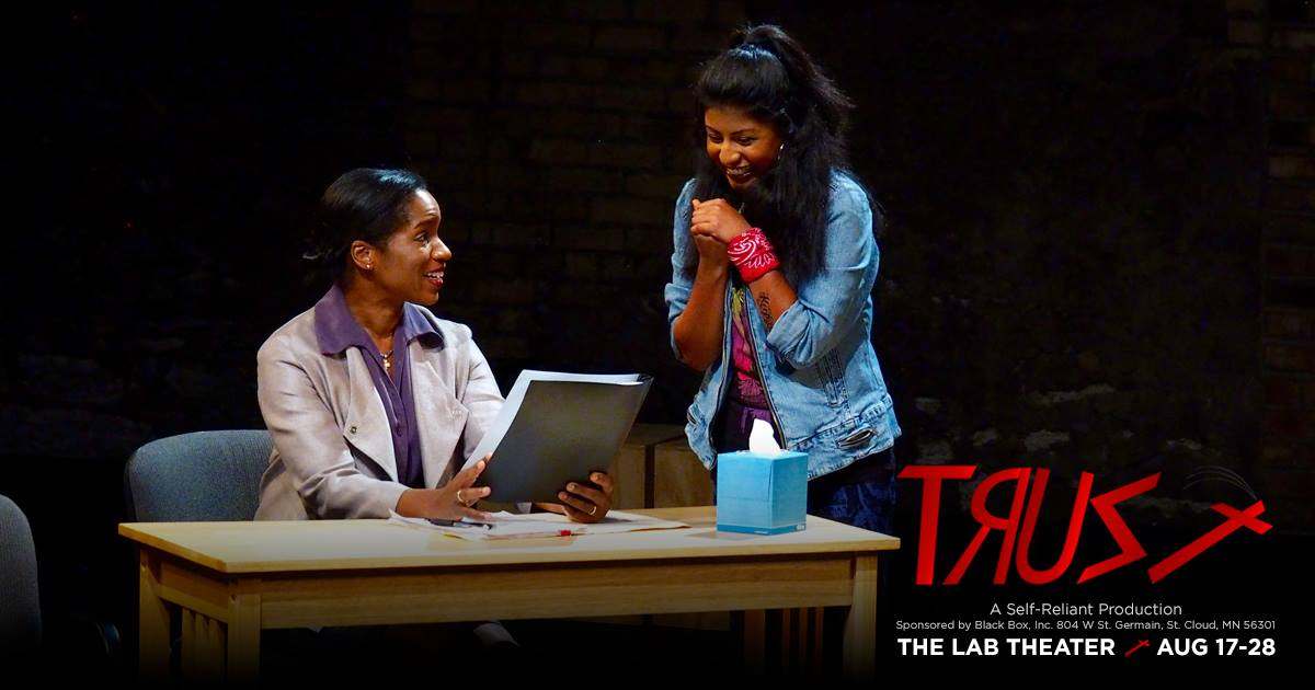 "Performance photo - ""Trust"" at The Lab Theater Minneapolis"