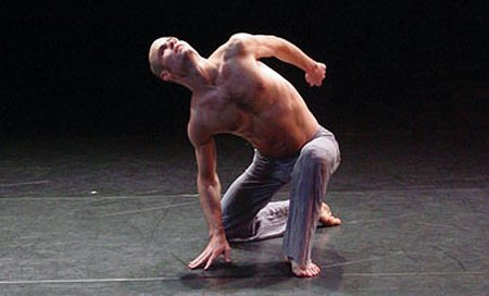 Mathew Janczewski performs waterBRIDGE. Choreographed by Mathew Janczewski for ARENA DANCES