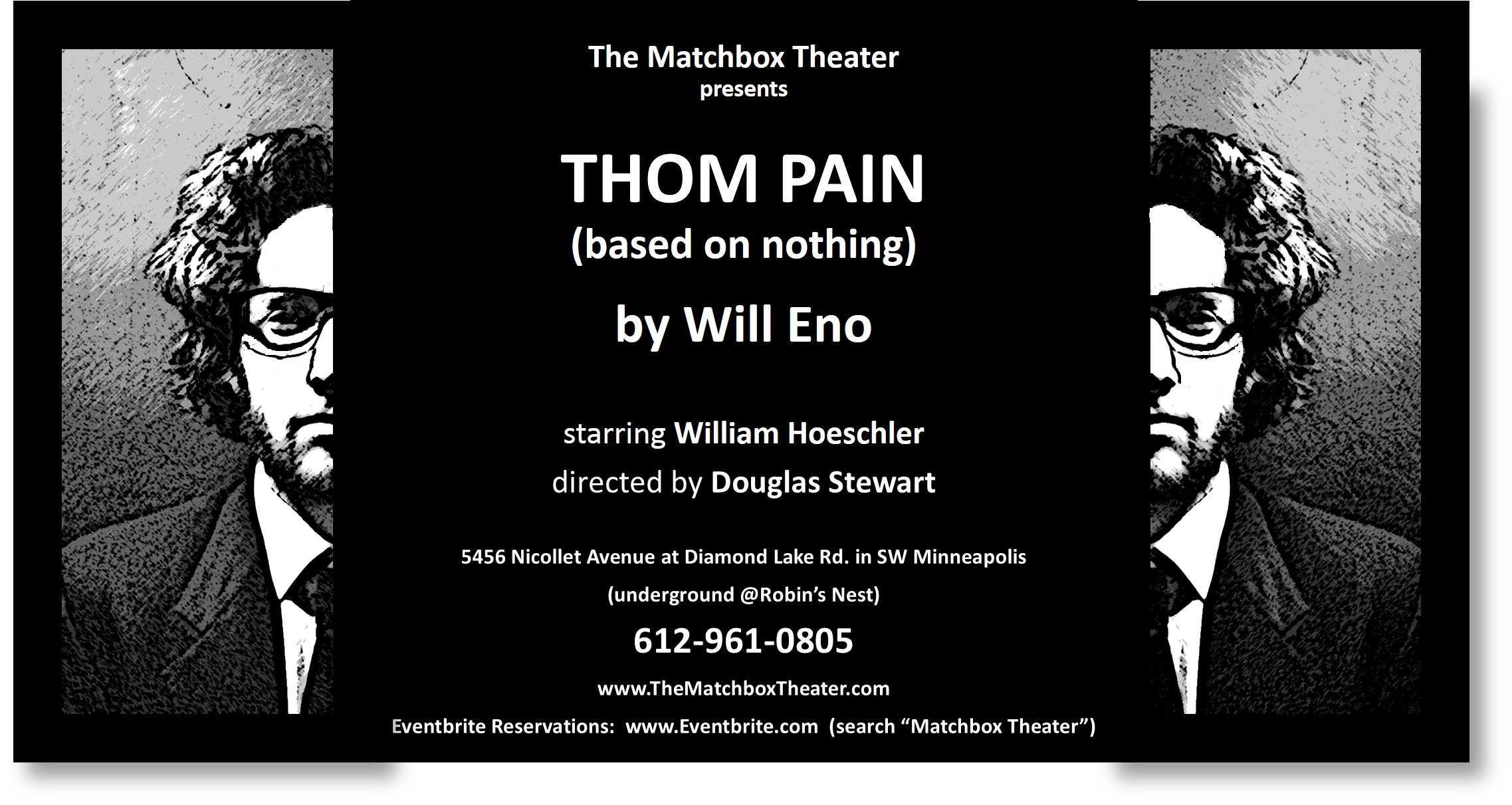 William Hoeschler; Thom Pain; The matchbox Theater; Douglas Stewart