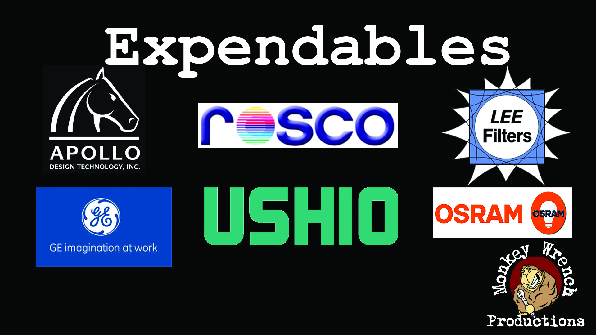 Expendable logos