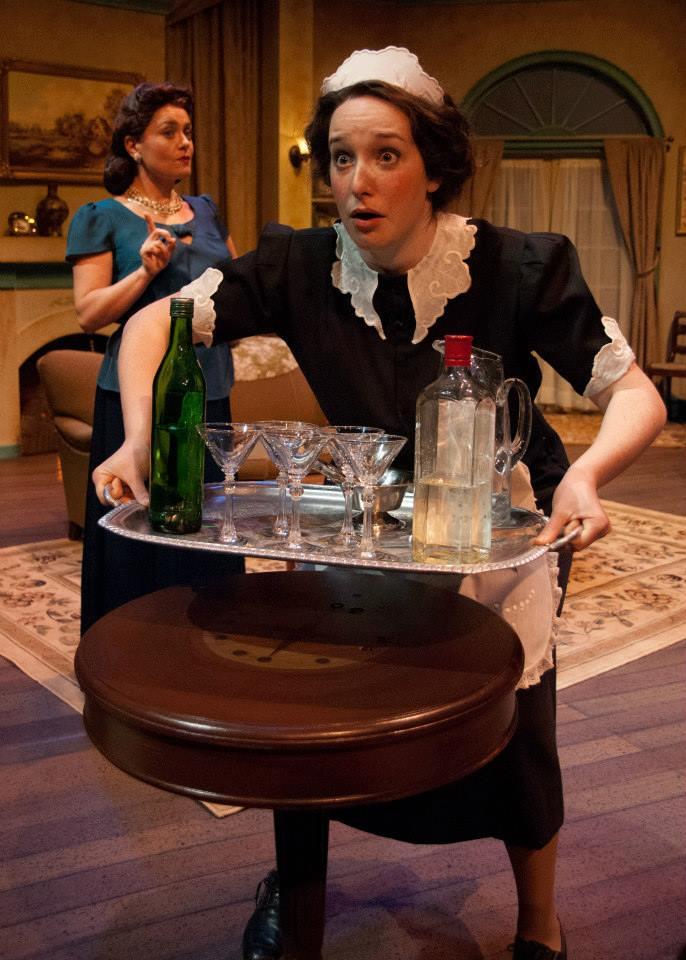 Edith in Blithe Spirit