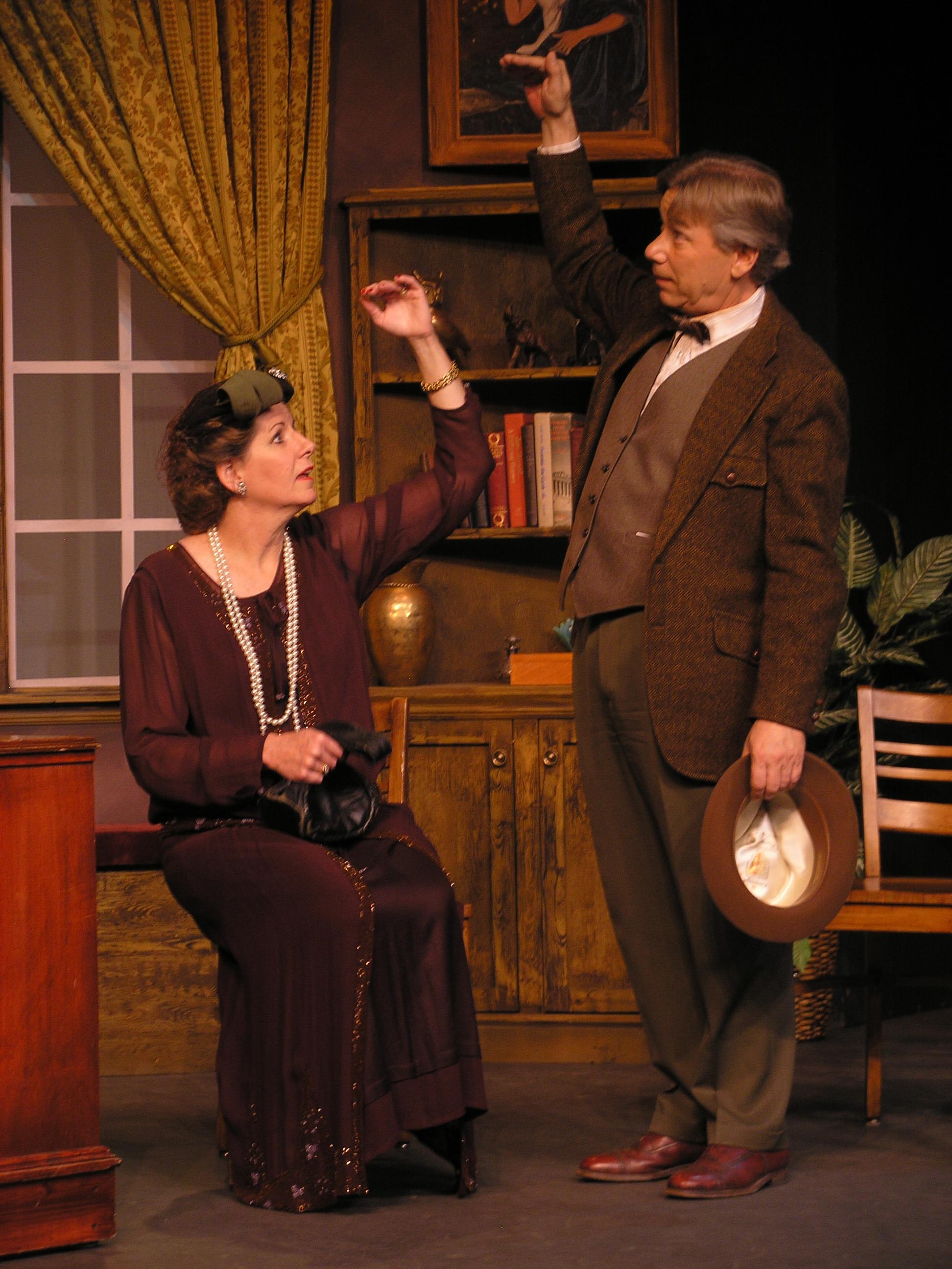 Martha Wigmore as Betty Chumley in Harvey