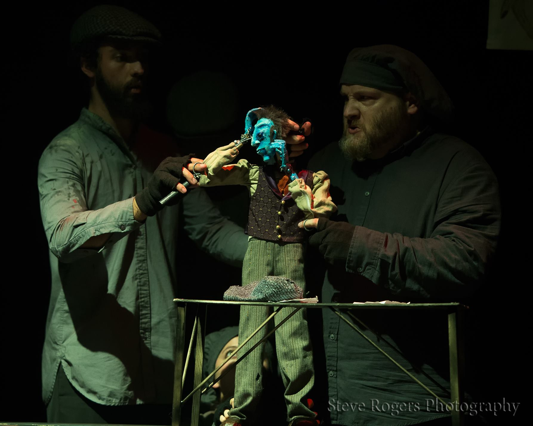 Trouble Puppet - The Strange Case of Edward Hyde and Dr. Jekyll - Austin Texas