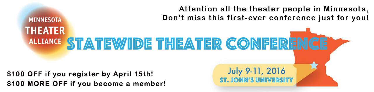 Register now for the Theater Alliance conference
