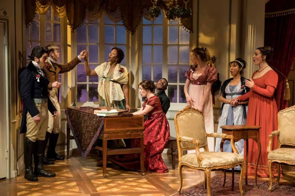 Miss Bennet: Christmas at Pemberley at the Jungle Theatre