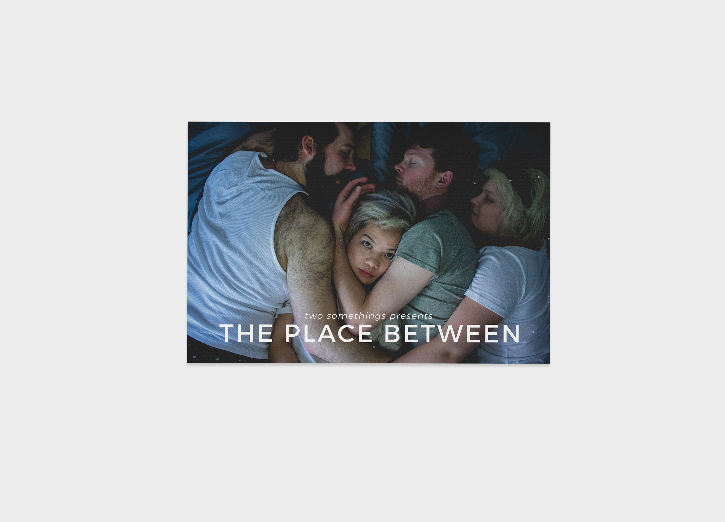 Postcard for 2016 Fringe Show, The Place Between.