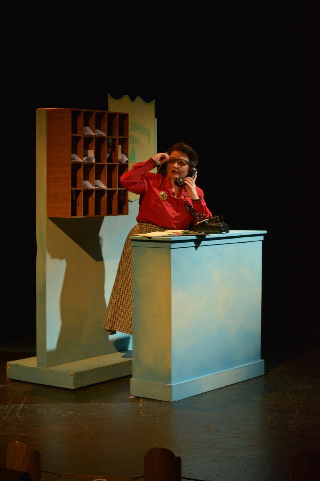 Diana Wilde as Martha Watson in White Christmas