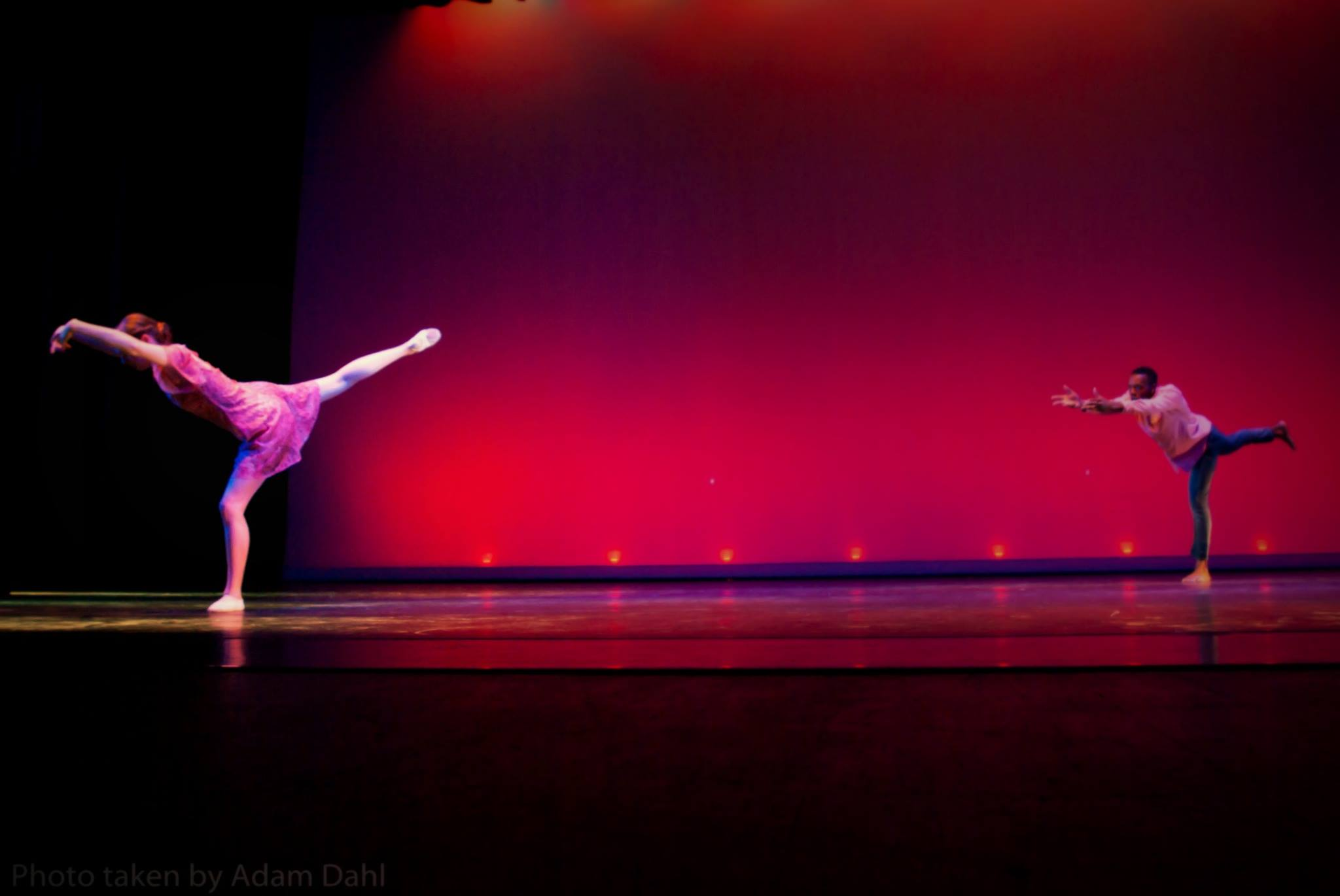 Dancer, Contemporary, Dance, Ballet, Arabesque, Extension, Duet, Partner