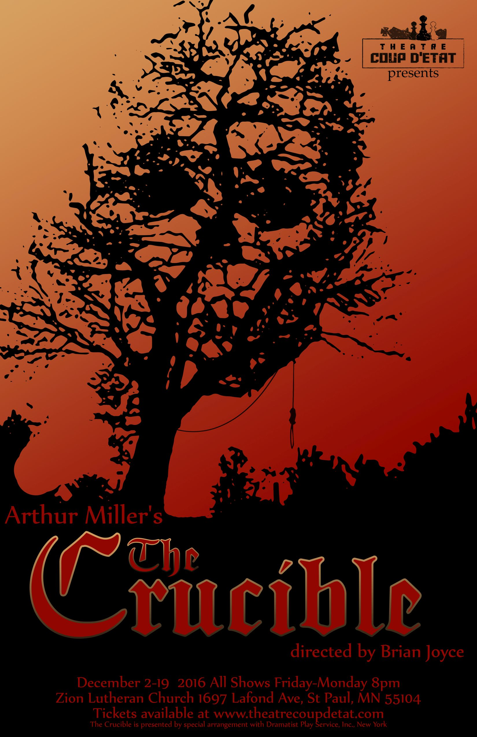 the chaos of salems witch trials in the crucible by arthur miller Arthur miller ostensibly wrote his classic drama the crucible about the salem witch trials of 1692, but he really wroteabout sen joseph mccarthy's hunt for communists.