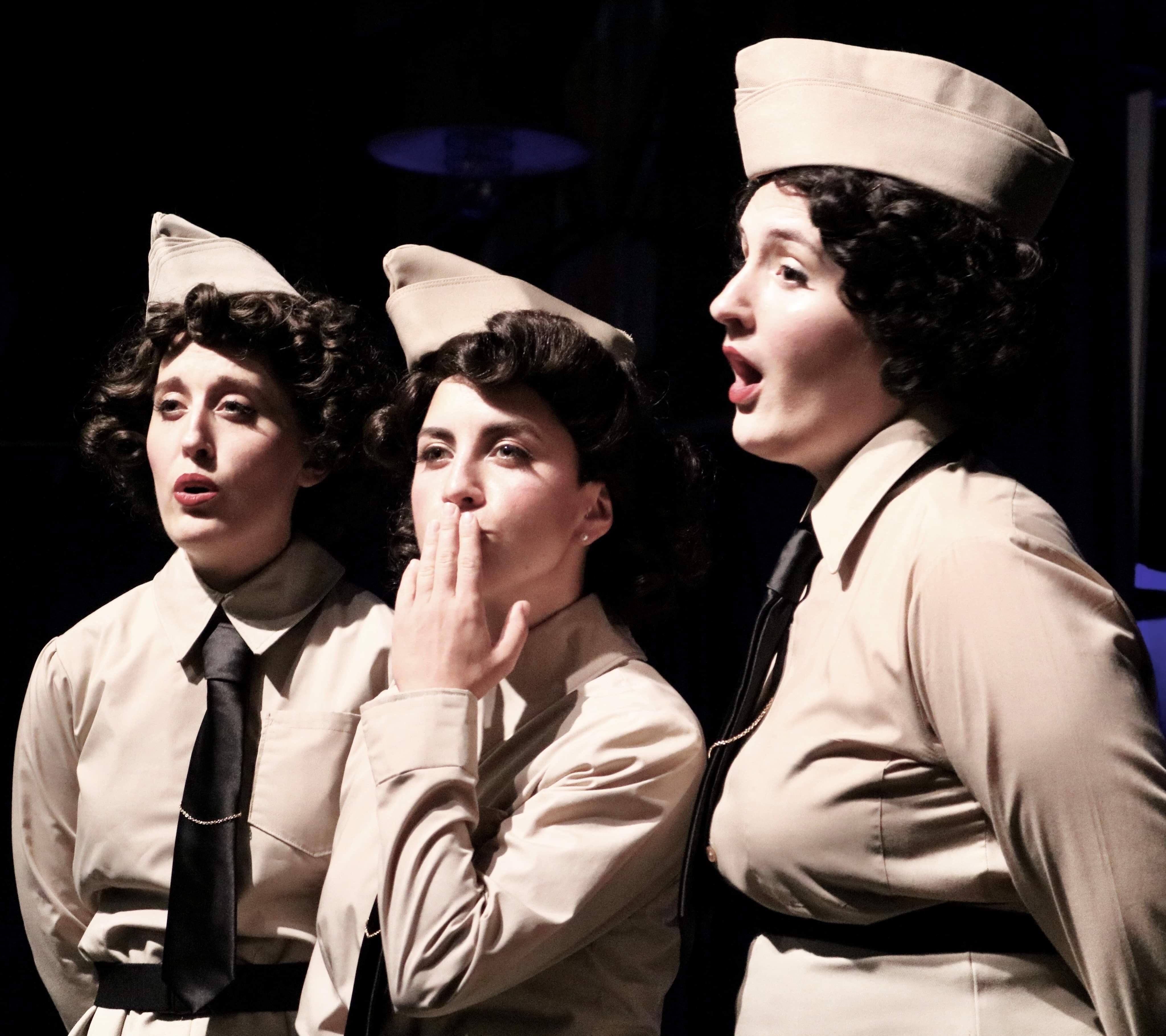 Sisters of Swing: the Andrews Sisters singing