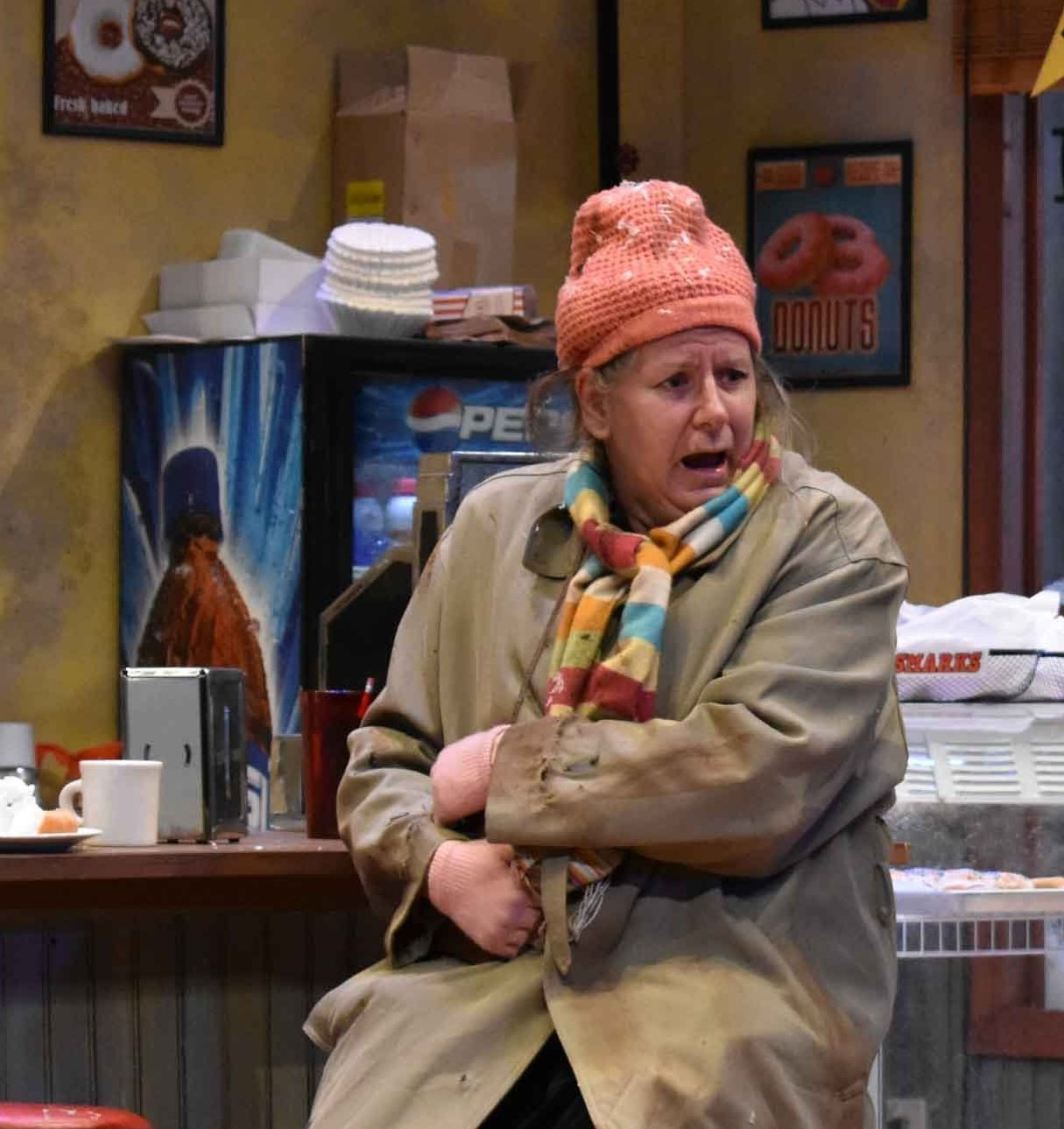 Martha Wigmore as Lady Boyle in Superior Donuts