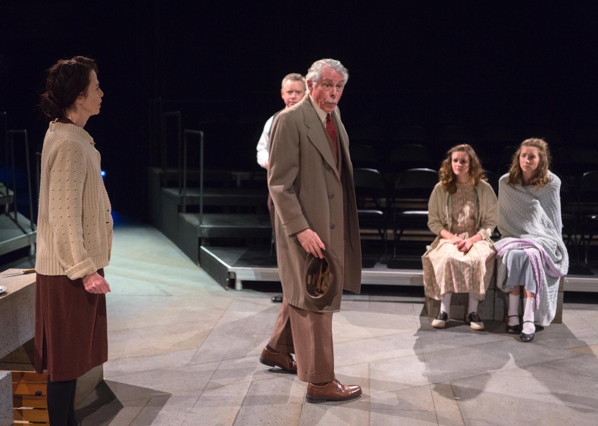 "Richard Dietman as Mr. Kraler in ""The Diary of Anne Frank."""