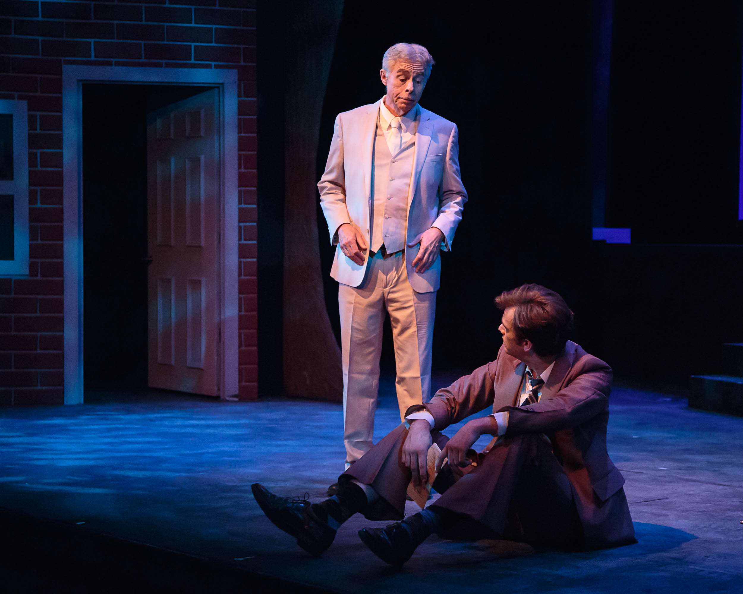 """Clarence in """"It's a Wonderful Life"""" at the Rochester Civic Theatre"""