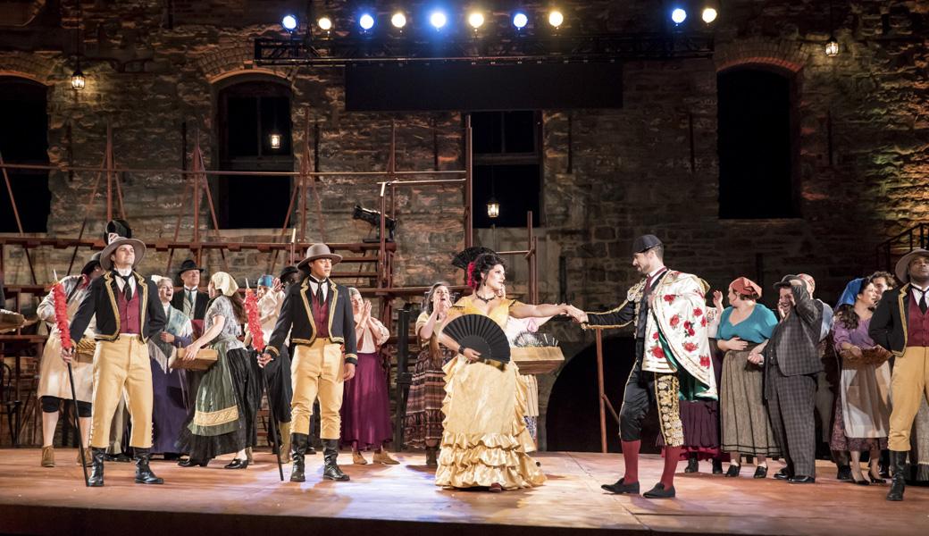 Carmen, Mill City Summer Opera, Costume Design