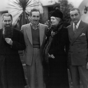 The Barrymore's with Walt Disney on the set of Rasputin - Blog - Magazine