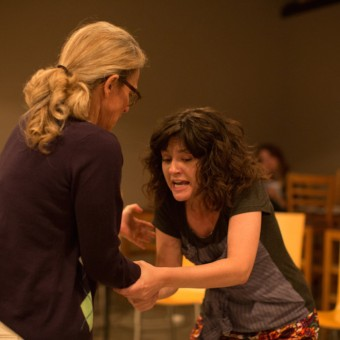 "Sally Wingert and Sara March in ""And So it Goes"""