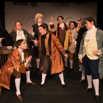 The Cast of 1776 at St. Croix Festival Theatre - review - magazine
