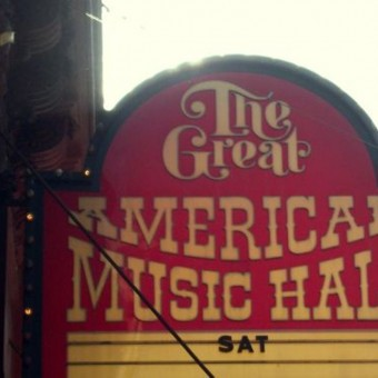 A marquee for musicals