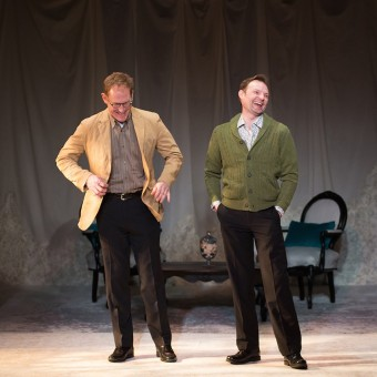 David Mann and Wade Vaughn star in The Best Brothers by Daniel McIvor