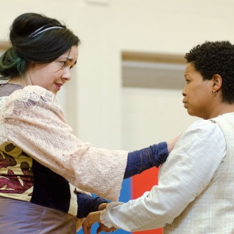 Scene from Ten Thousand Things production of Intimate Apparel - review - magazine