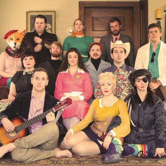 The cast of the Life Impromptu