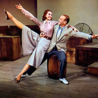 Cyd Charise and Fred Astaire in Silk Stockings