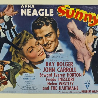 Movie poster for Jerome Kern's Sunny