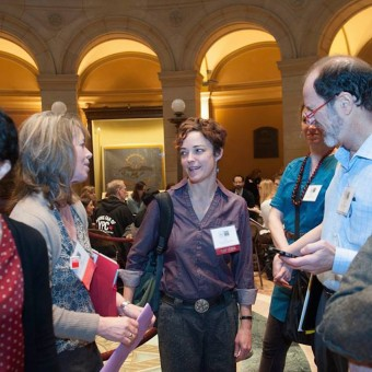Leah Cooper and others on Arts Advocacy Day