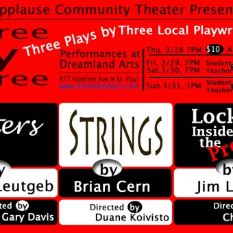 Three by Three: Three Plays by Three Local Playwrights