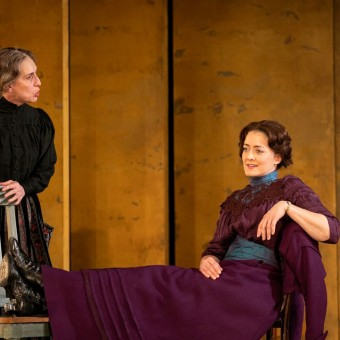 Pictured: Anne Marie (Angela Timberman) and Nora (Christina Baldwin); Photo: Lauren B. Photography
