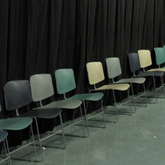 Chairs at University Theater Dept