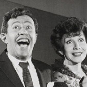 Betty Comden and Adolph Green (c) Friedman-Abeles