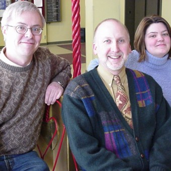 Jon Skaalen, Craig Dunn, and Kristi Gaudette (Education Coordinator September 2008- January 2014).