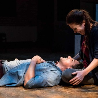 Sasha Andreev and Adelin Phelps in Understood by Trademark Theater