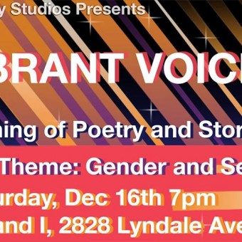 Vibrant Voices- Poetry & Storytelling Event