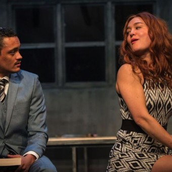 Nathan Barlow and Katie Guentzel in Dutchman