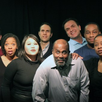 The Cast of Full Circle's 365 Days/Plays