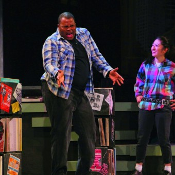 "H. Adam Harris in ""Complicated Fun"" at the History Theatre"