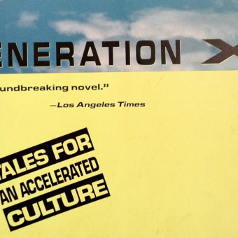 Generation X book cover by Douglas Copeland