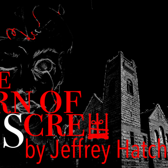 Art for Hero Now Theatre's production of The Turn of the Screw by Jeffrey Hatcher