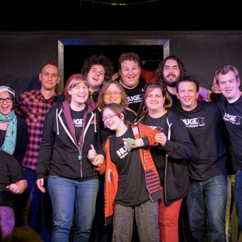 Participants in Huge Improvathon 2015 - article - magazine