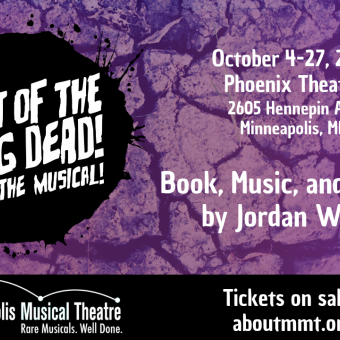 Night of the Living Dead! The Musical! by Jordan Wolfe, Oct. 4-27