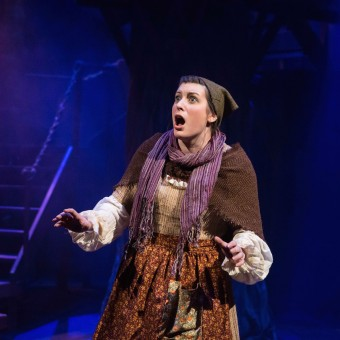 "Kelly Matthews as the Baker's Wife in Lyric Arts ""Into the Woods"""