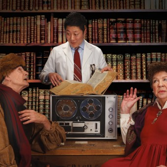 Richard Ooms, Kurt Kwan, and Claudia Wilkens in The Language Archive