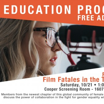 Film Panel: Film Fatales in the Twin Cities