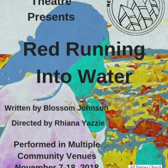 Red Running into Water