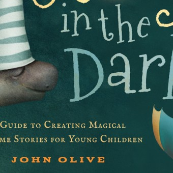 The cover of John Olive's book