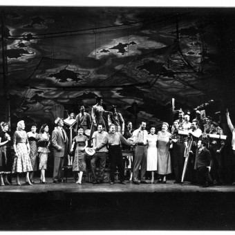 "The cast of the original production of ""Pipe Dream""."