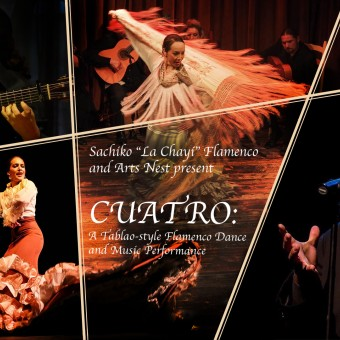 CUATRO: A Tablao-style Flamenco Dance and Music Performance
