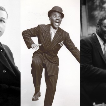 Image (left to right) of William, Robinson, Robeson